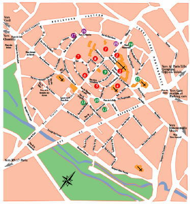 senlis map